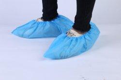 Coperchi a gettare non tessuti del pattino, coperchi del piede dei Overshoes della Anti-Polvere pp per il locale senza polvere, anti Non-Woven di consumo Shoecovers di slittamento