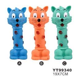 De Vorm van de Kat van het huisdier met het Speelgoed van de Hond van de Puppy van het Speelgoed van Poten (YT99340)