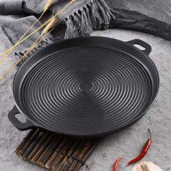Home Koken Spaans Seafood Pots die Cast Aluminium Fry Cooking Paella pannen met handvatten Pizza Pan