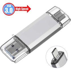 32GB/64GB/128GB Pendrive USB3.0 Speicher-Stock-Speicher für Laptop PC Blitz-Laufwerk Typen-c USB