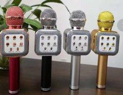 مكبر صوت لاسلكي محمول باليد USB بالجملة مصنع لحفلة بينيّة و [كتف] يغني.