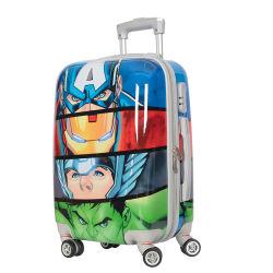 中国の製造業者OEMプリント子供の子供のトロリー旅行荷物袋箱
