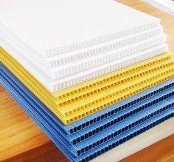 Aanpasbare PP golfkarton van polypropyleen, polypropyleen, Hollow Sheet Gebruikt voor verpakking of reclame fabrieksprijs gemaakt in China