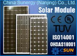 Csun Poli 250W painel solar fotovoltaico com Certificado pela TUV