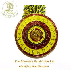 Mosaico de buena calidad personalizada piso medallas medallón de chorro de agua