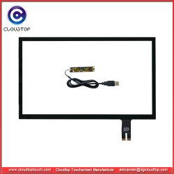 """23.8"""" de pantalla táctil capacitiva de Tablet PC con placa controladora USB"""