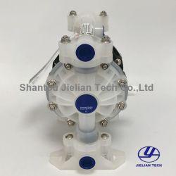 기름, 화학제품, 잉크, 물을%s 공기에 의하여 운영하는 Bml-15p 플라스틱 두 배 격막 펌프