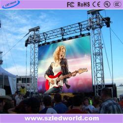 Im Freien/Innenmiete LED-Bildschirm-Tafel für das Bekanntmachen (P5 P8 P10 farbenreiche Baugruppe)