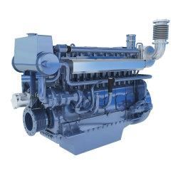 中国Weichai X6170/8170の中速度の高品質の海洋のディーゼル機関Wp6のボートエンジン