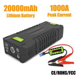 20000mAh 1000A Autobatterie-Zusatzbeweglicher Sprung-Starter für Benzin/Diesel