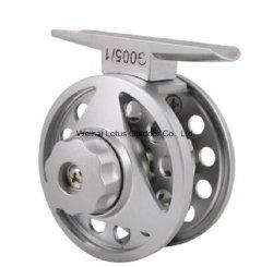 機械切りのハンドルのアルミニウムフライフィッシングの巻き枠の飛行の巻き枠