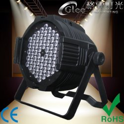 전문가 60*3W RGBWA 풀 컬러 LED 다중 PAR64 동위