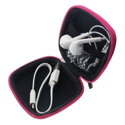 Bolsa de almacenamiento de forma cuadrada con estuche duro auricular