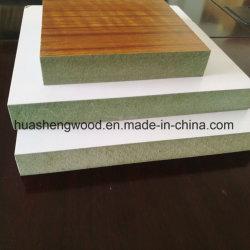 Grünes feuchtigkeitsbeständiges Hmr wasserdichtes MDF-lamellenförmig angeordnetes Melamin-Papier