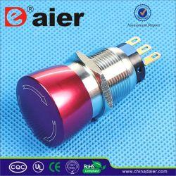 De metal resistente al agua IP67 Interruptor Pulsador de parada de emergencia (LEA1-19A-11SR)