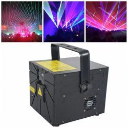 8W RGB лазерного освещения сцены DJ оборудование