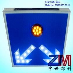 Alto brilho alimentada a energia solar Seta LED indicativo de estrada para Direção