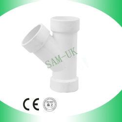 PVC Dre Y Té avec alimentation en eau