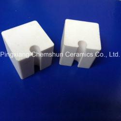 Blocchetto di ceramica dell'allumina di 95% per lo strato di gomma di ceramica