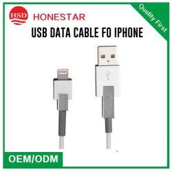 iPhone5 6 7のiPhoneの金属ハウジングの充電器のデータラインのためのUSBデジタルケーブルへの電光ケーブルおよびiPadのiPod USBワイヤー
