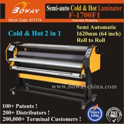 Semi-Auto Cycle (Полуавтоматический 162см/63,7 дюйма/1620 мм холодной и горячей рулон пленки для ламинирования фотопленку бумаги ламинирование машины
