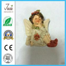 Polyresin Christmas Angel Figurine per Decoration