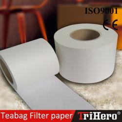 Papel de filtro para o saquinho de chá