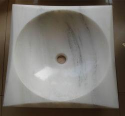 Royal/Blanc/Noir pur marbre/granit miel Onyx lavabo/BOL/puits de lavage