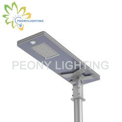 Nuova serie F 2019 30W-120W, IP65 integrata All in One luce solare LED Street!!Body Induction!!lampada da esterno per Garden/Wall/Courtyard/Lawn/Highway