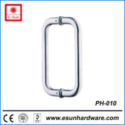6/8 Zoll-GegenEdelstahl oder Messing-Dusche-Tür-Zug-Griff (pH-010)