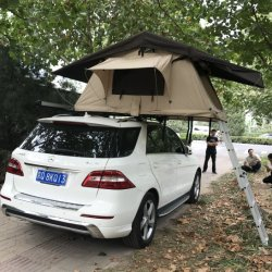 4WD Fíbrico Lona Camping Car Top tenda na China Saco de Dormir