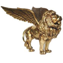 Outdoor estátua de bronze de Tamanho de vida animal Escultura Leão