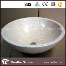 Vermelho Branco personalizadas Onyx Dissipador de pedra mármore