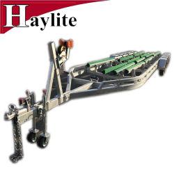 Rimorchio idraulico di trasporto della barca da vendere con le parti del guardia forestale