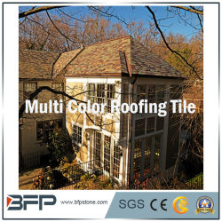 Natural Black/Grey/Rusty Roofing Slate Roofing Tile