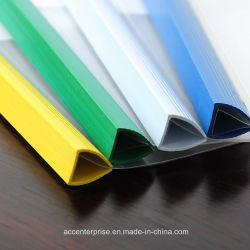 Staaf van de Stekel van het Bindmiddel van de Dia van pvc de Plastic (verschillende kleur, A4)