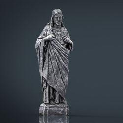 Церковь стиле жизни размера мраморные статуи Иисуса были выгравированы каменные скульптуры