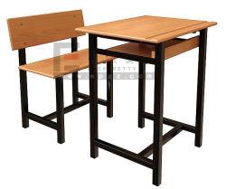 L'école unique fixe de bureau et chaise/mobilier scolaire/Table et chaise en plastique