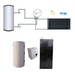 Zonne-energie Thermodynamisch verwarmingssysteem voor heet water