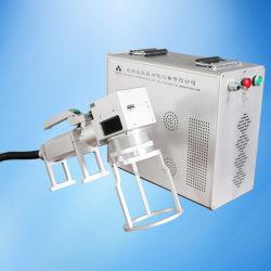 Machine Carriable de marqueur de laser pour les pièces de métaux lourds