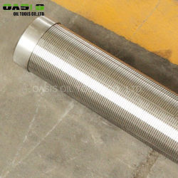 V Satinless ranurado 316 Filtros de acero 304 Soporte de pantalla de Johnson de Grid/tubo de drenaje de agua Precio competitivo