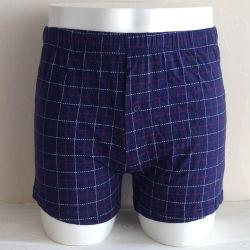 Preiswerte Baumwolle gedruckte Mens-Boxer-Kurzschlüsse