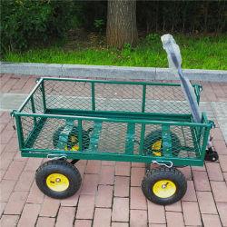 Faltender Ineinander greifen-Hilfsmittel-Karren-Garten-Hochleistungslastwagen