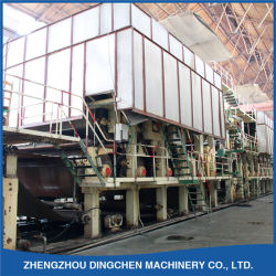 (DC-1575mm) Box Board Paper Making Machine durch Recycling Waste Paper
