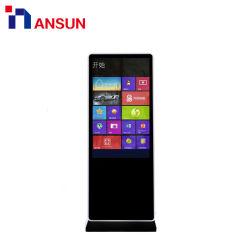 다중 매체 정보 문의처 접촉 스크린을 광고하는 독립 구조로 서있는 LCD