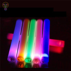 Schaumgummi-Glühen-Stock leuchten LED-blinkendem Schaumgummi-Stock