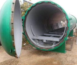 По промышленному использованию давление вакуума для пропитки древесины оборудования