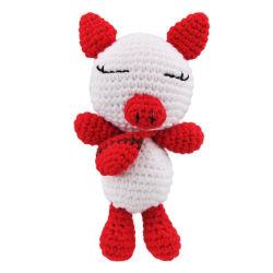 Персональные очаровательный мягкие трикотажные мини-розовый поросенок мягкие игрушки в подарок