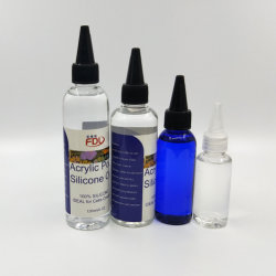 30ml-1L de tinta acrílica de fluido de silicone, para artistas ou iniciantes