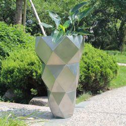 Fo-9052 Acero Inoxidable Maceta florero Jardín decoración exterior muebles de patio de la sembradora